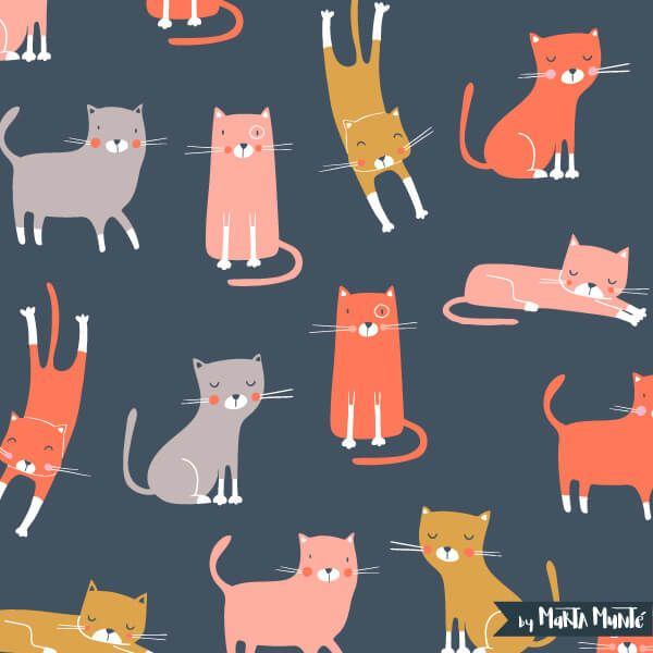 Cats patterns