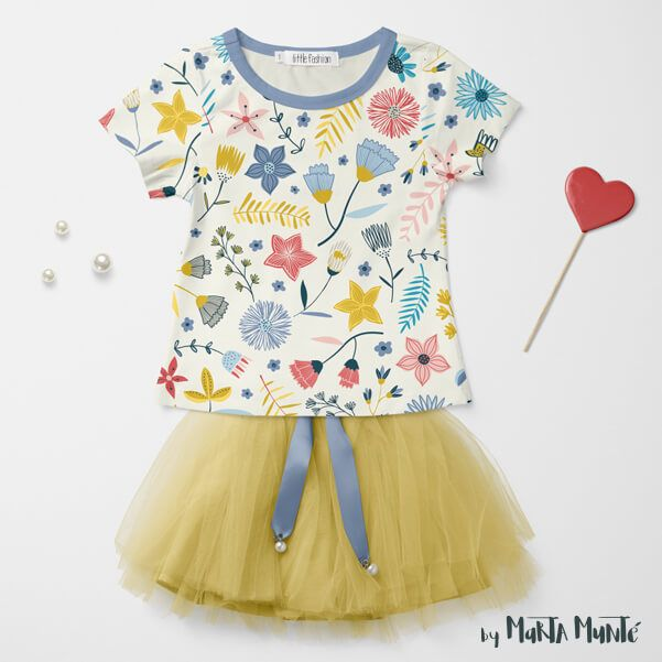 WHIMSICAL GARDEN t shirt by marta munte