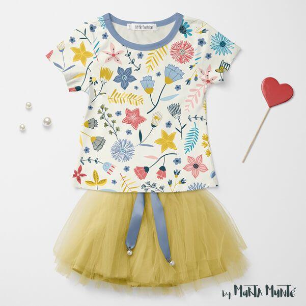 WHIMSICAL GARDEN t shirt by marta munte