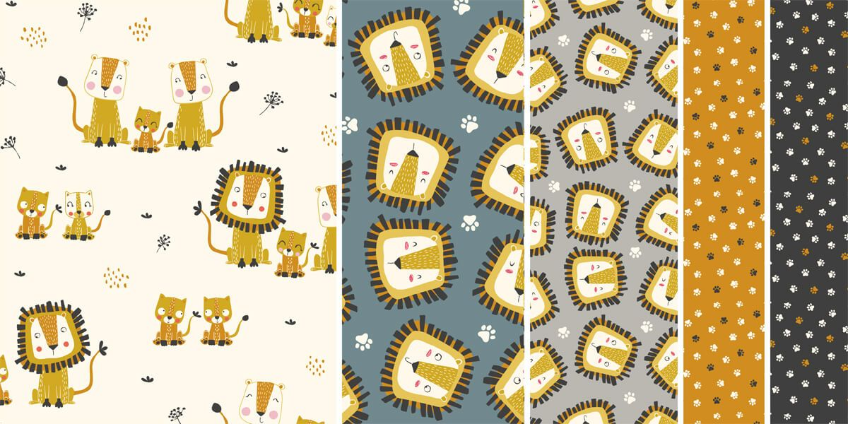 Lion Families collections by Marta Munte