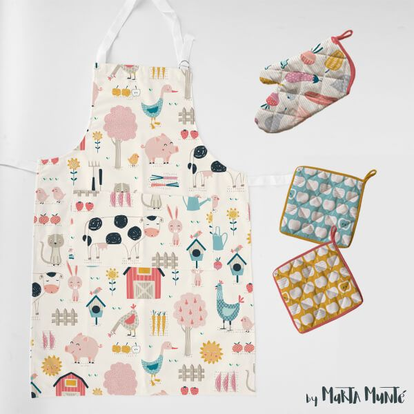 Happy Farm Pattern Collections by Marta Munte