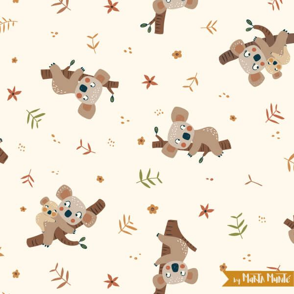koalas patterns marta munte