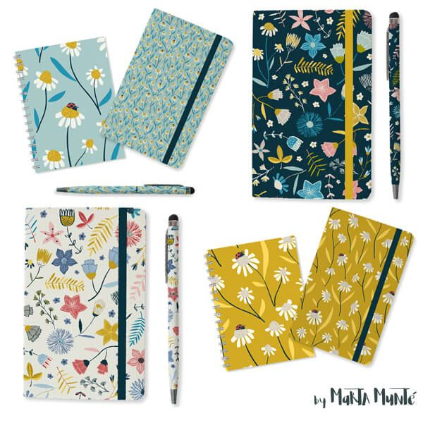Whimsical Garden books and another gifts patterns by marta munte