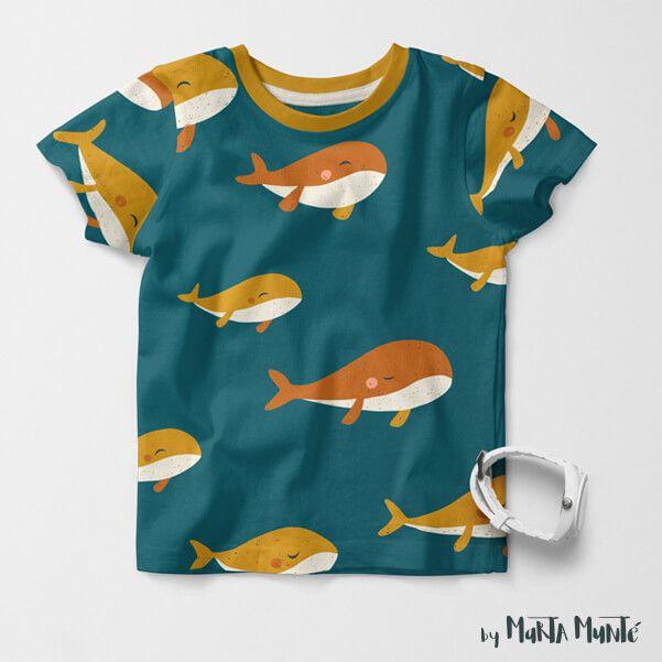 Whales Patterns marta munte