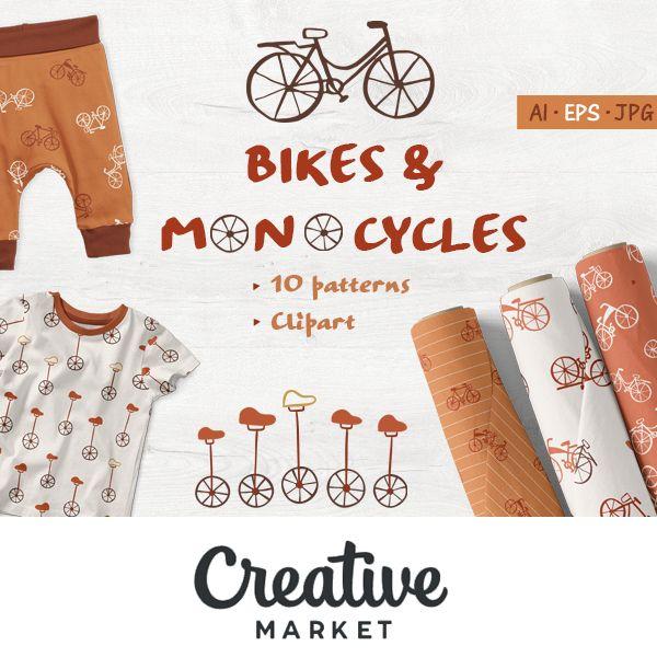 creative market shop patterns by marta munte